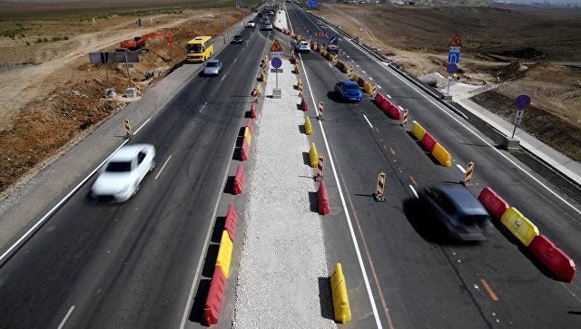 Тест на мобильность: в Крыму оценили связь на новенькой трассе «Таврида»
