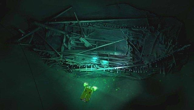 В Черном море нашли самый древний в мире корабль