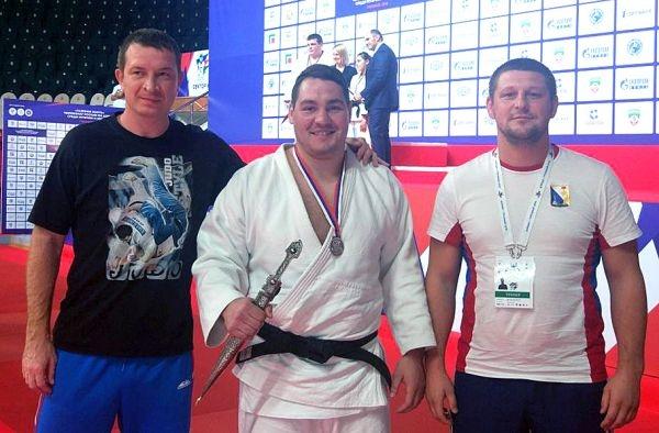 Севастополец завоевал «серебро» чемпионата России по дзюдо