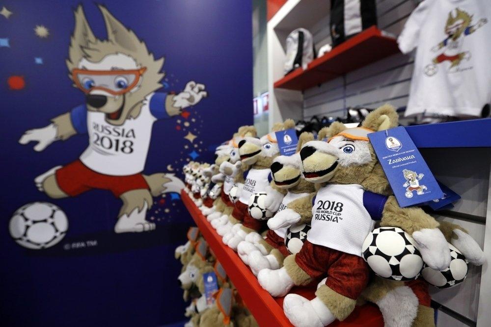 В аэропорту Симферополя незаконно торговали игрушками с эмблемой ЧМ-2018