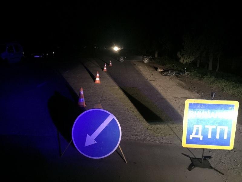 В Крыму поймали водителя, сбившего насмерть велосипедиста и сбежавшего с места ДТП