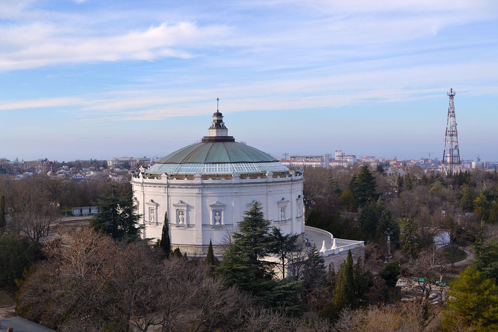 В Севастополе на Сапун-горе может появиться новый торговый центр