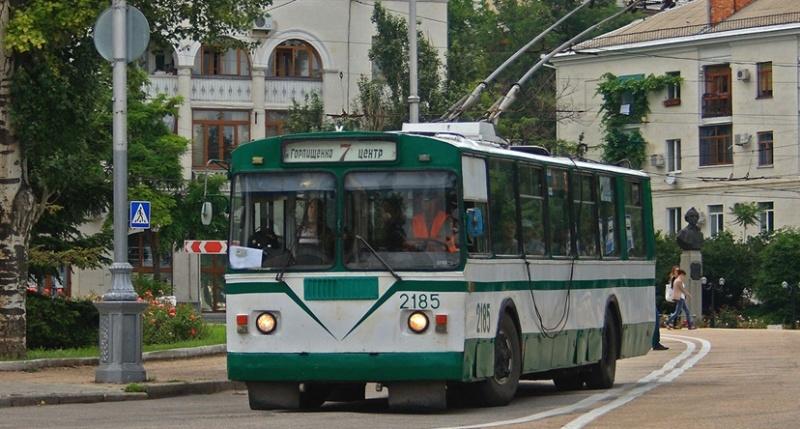 В Севастополе избавятся от старых троллейбусов и изменят схему движения новых