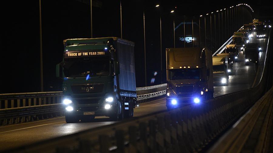 Аксёнов рассказал, как повлияет запуск движения фур по Крымскому мосту на цены