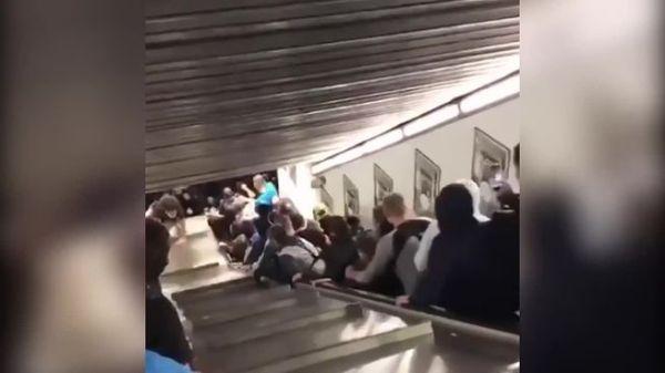 В римском метро обрушился эскалатор: пострадали 15 россиян