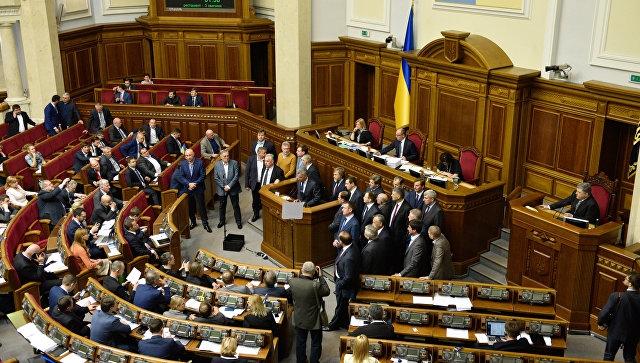 На Украине ввели санкции в отношении двух местных телеканалов