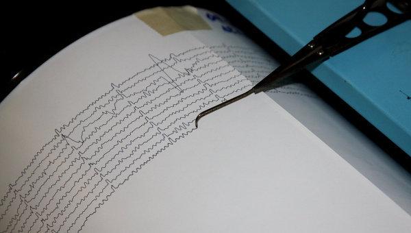 В Краснодарском крае произошло землетрясение в 4 балла