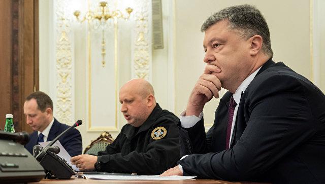 СНБО принял решение ввести военное положение на Украине