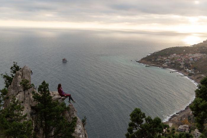 Блог путешественника по Крыму: уникальная гора Кошка