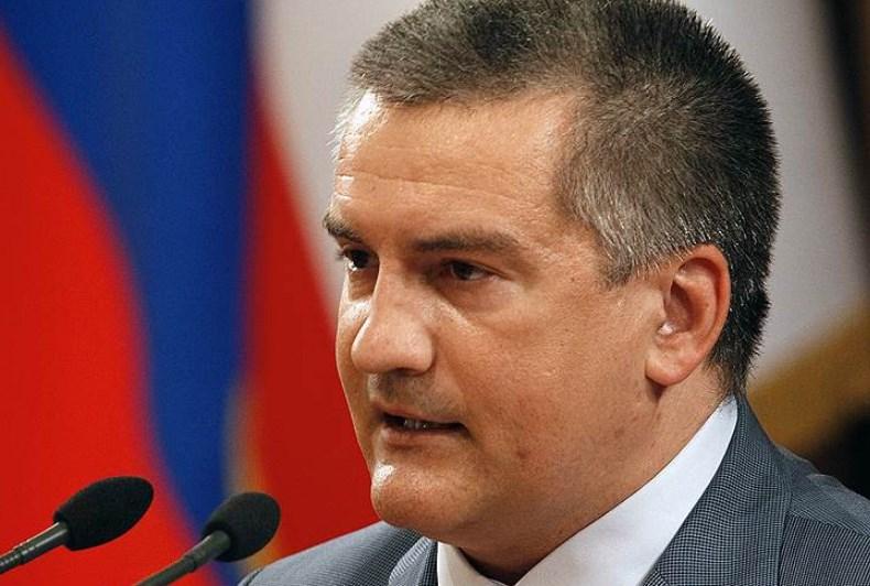 Аксенов назвал виновника инцидента в Керченском проливе
