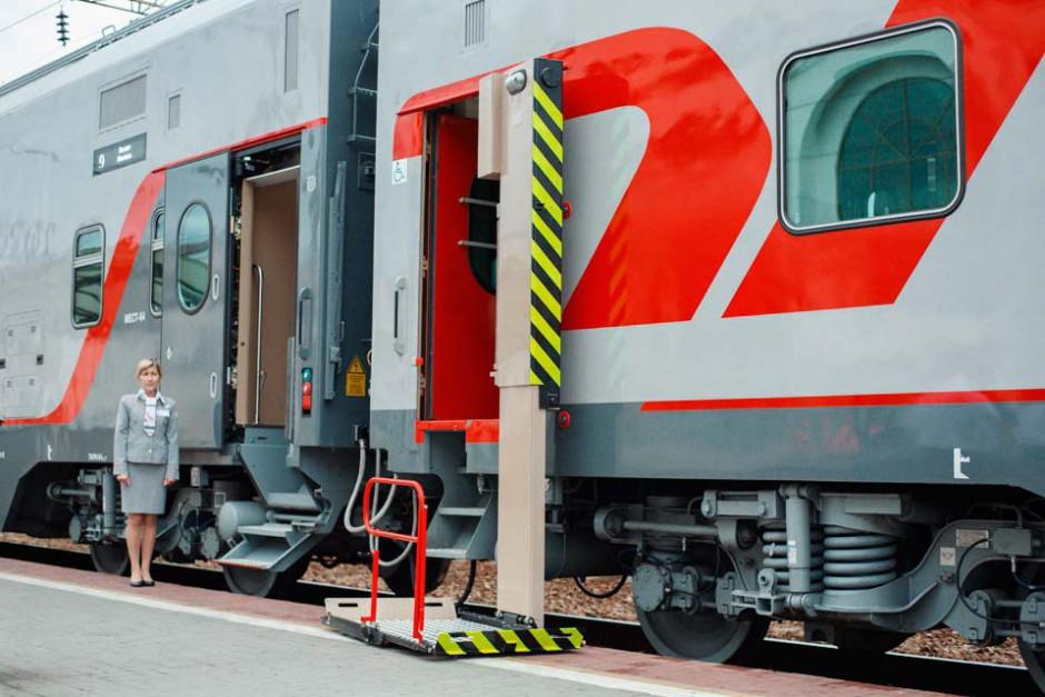 По Крымскому мосту будут ходить новейшие двухэтажные поезда
