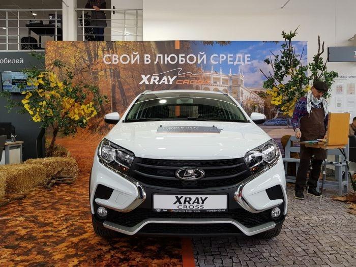В Севастополе презентовали новую LADA XRAY Cross