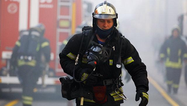 В Крыму после ДТП загорелся ВАЗ и выгорел дотла