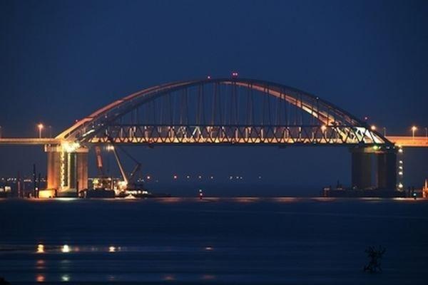 На Украине «разглядели» проседание Крымского моста