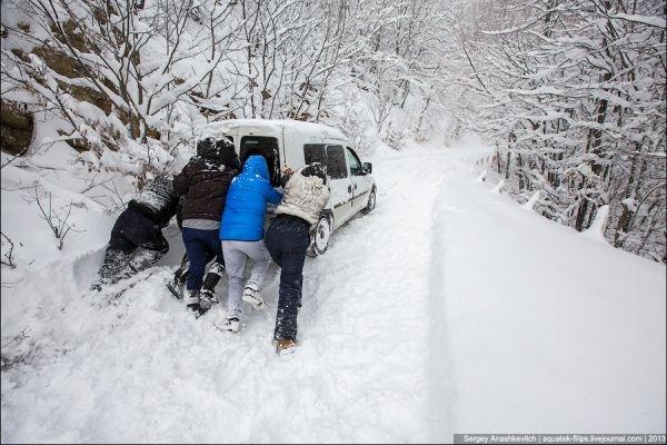 Дорогу на Ай-Петри зимой могут оставить открытой