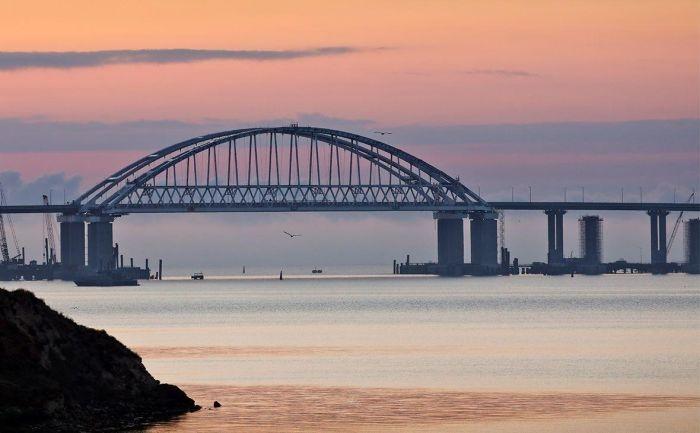 Крымский мост «отреагировал» на заявления Украины о его проседании
