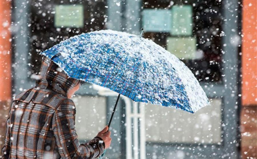 Сегодня в Крыму местами ожидается мокрый снег (прогноз погоды на 18 ноября)