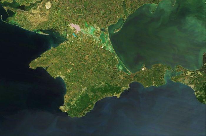 Комиссия Верховной рады использовала на заседании карту Украины без Крыма
