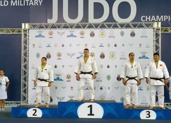Севастополец завоевал «золото» Чемпионата мира по дзюдо среди военнослужащих