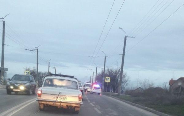 Авария в Севастополе: сбитый пешеход и «паровоз» из четырех автомобилей