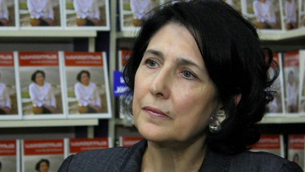 Новый президент Грузии заявила об отказе сотрудничать с Россией