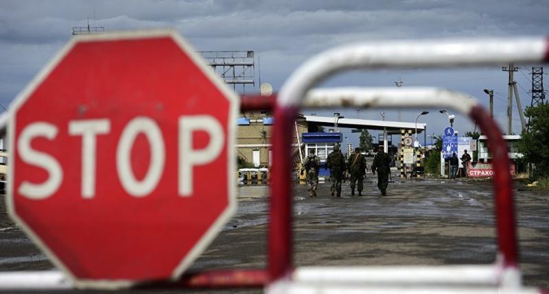 Украина ввела для россиян спецразрешения для въезда в Крым