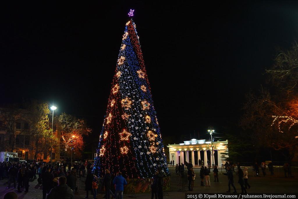 Программа открытия новогодней елки на площади Нахимова