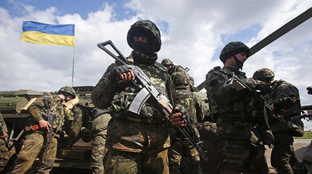 Украинские силовики разгромили пансионат на границе с Крымом