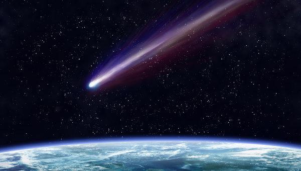 Сегодня к Земле приблизится комета