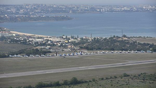 Возле аэродрома «Бельбек» нашли останки солдат