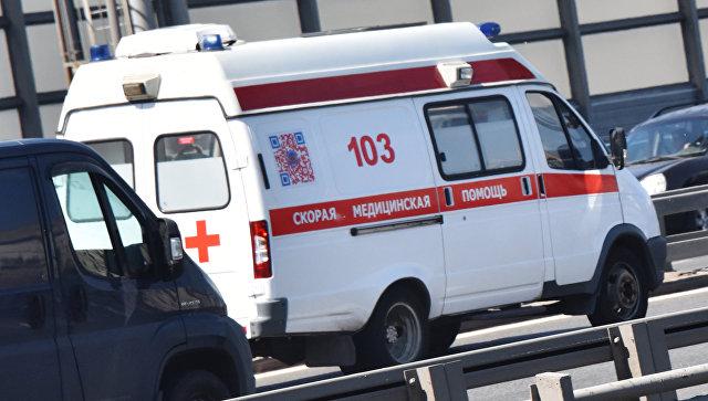 На Крымской трассе легковушка протаранила грузовик – водителя зажало в авто