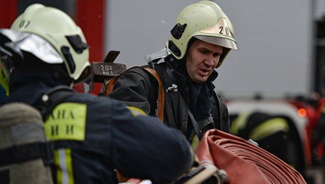 В Крыму на пожаре в пятиэтажке пострадал пенсионер
