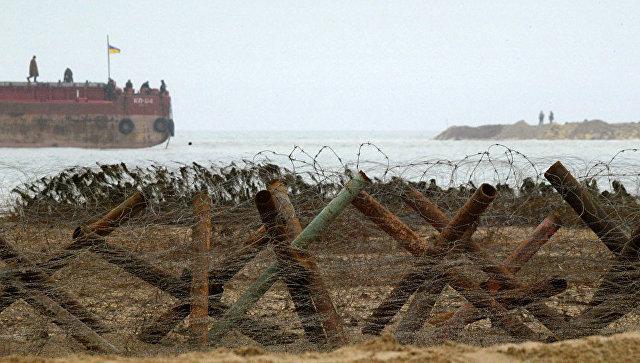 Киев перебрасывает войска к побережью Азовского и Черного морей