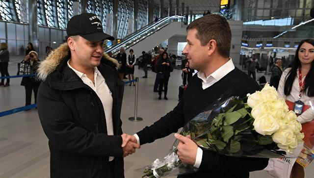Юбилейным пассажиром аэропорта «Симферополь» стал мужчина из Санкт-Петербурга
