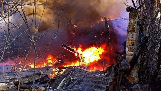 За сутки в Крыму произошло три крупных пожара