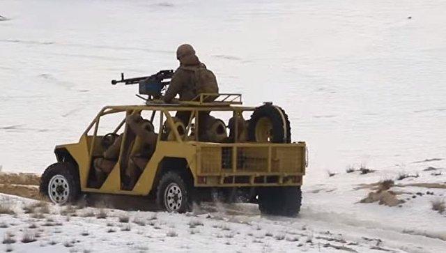 Четырехколесный дуршлаг: в Сети высмеяли новое авто для Нацгвардии Украины