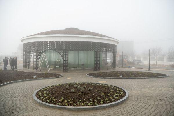 Парк у монастыря Святого Георгия в Севастополе откроют к Новому году