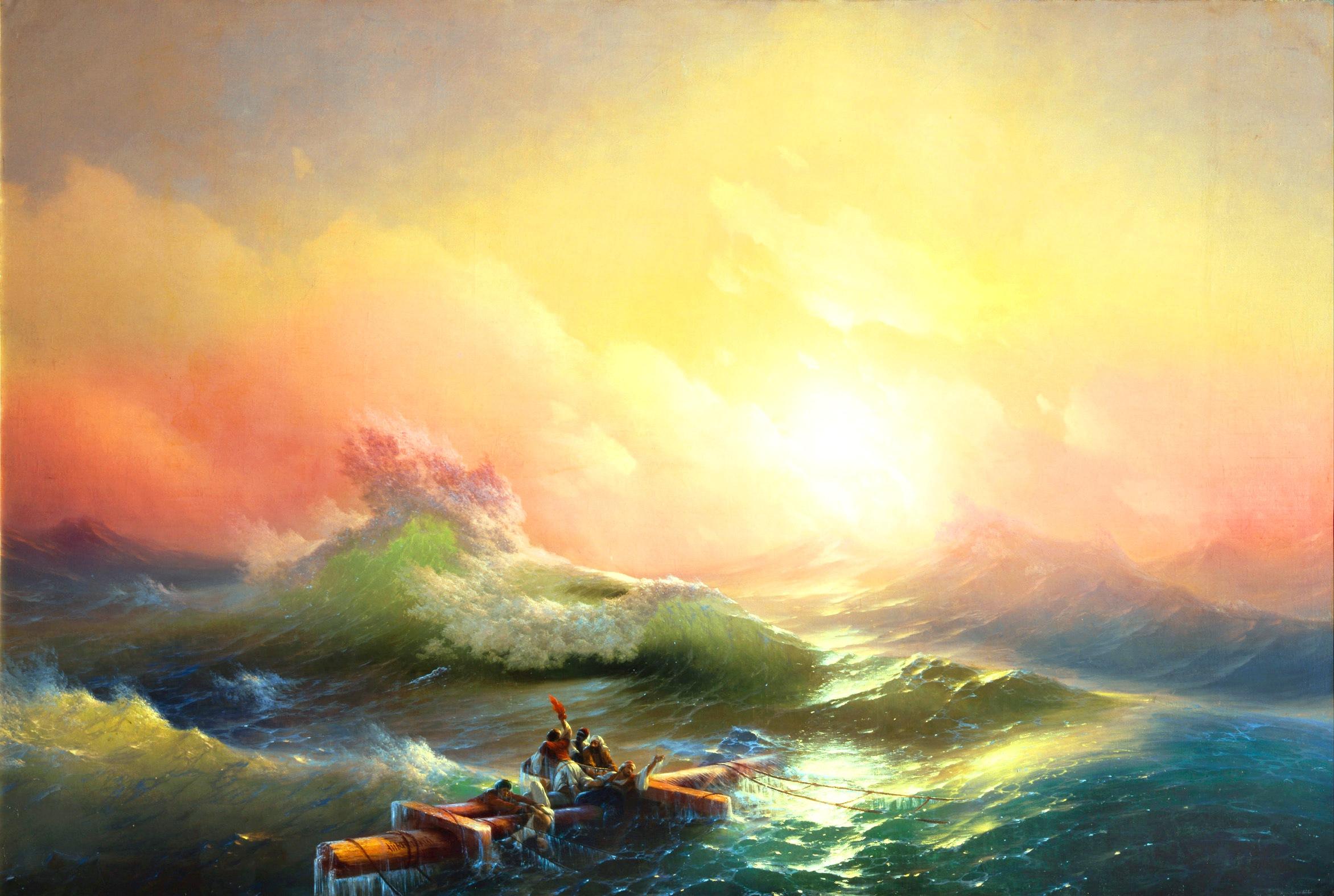 Передвижная выставка картин Айвазовского по России будет организованна в 2019 году
