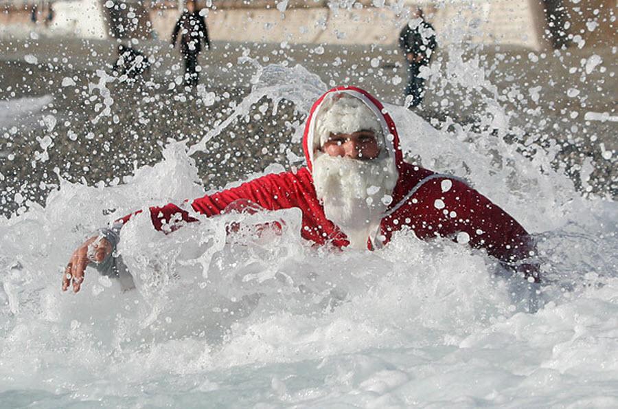 Деды Морозы устроят зимний заплыв в Ялте
