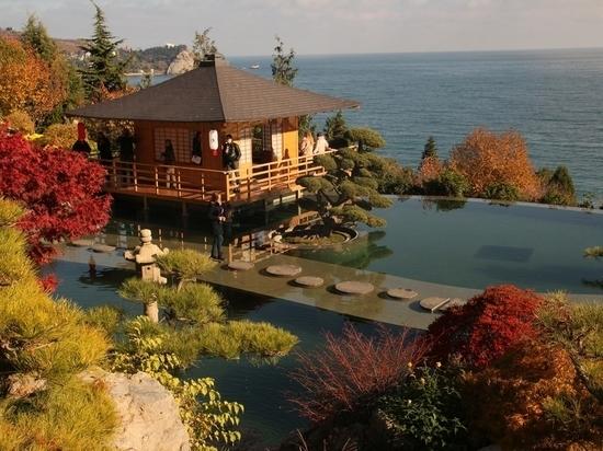 Цена за посещение японского сада в Партените поразила крымчан