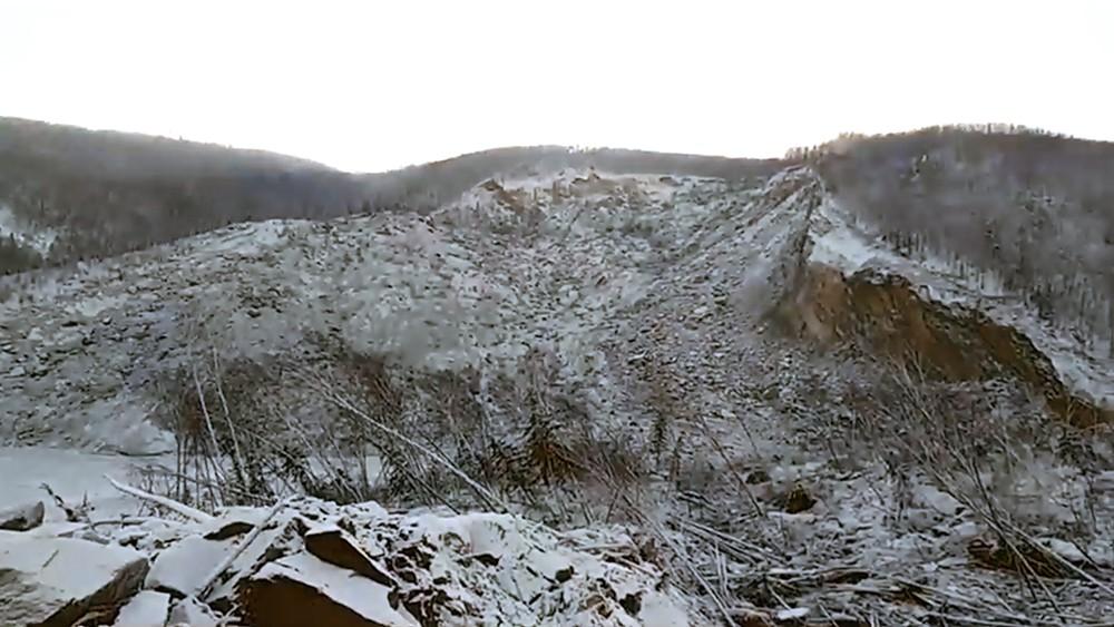 В России упал гигантский метеорит