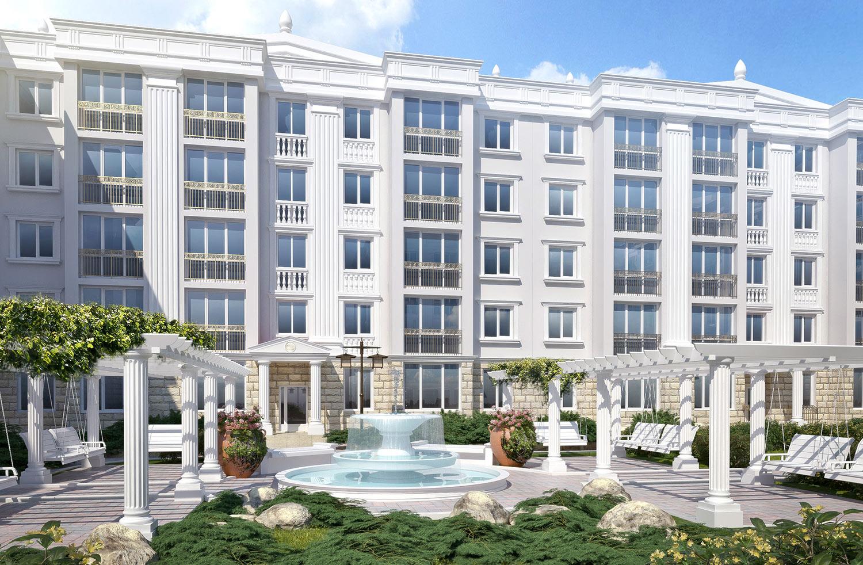 Древнегреческая архитектура при современном комфорте: стартовали продажи новых квартир в ЖК «Олимпия»