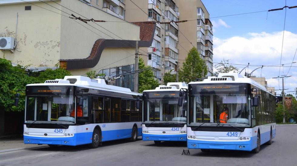 В Севастополе изменили маршрут троллейбуса № 8