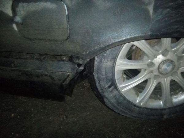 Под Симферополем яма в дороге оставляет автомобили без дисков и со вмятинами