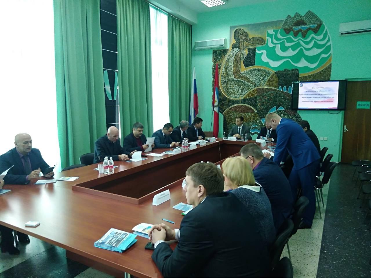 Севастополь принял бизнес-делегацию из Курской области