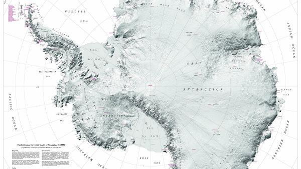 НАСА рассказало о серьезной угрозе от ледников в Антарктиде