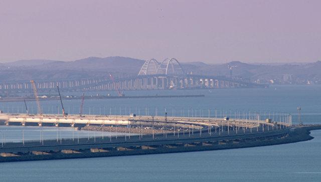 Строители Крымского моста рассказали о планах на 2019 год