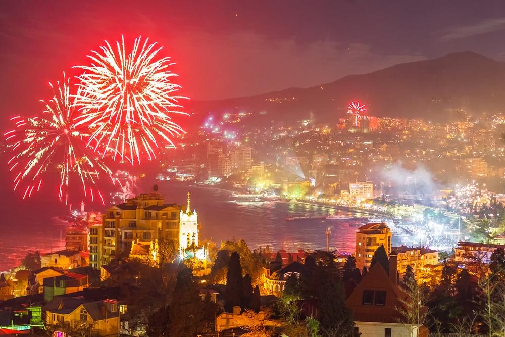 Варианты новогоднего отдыха в Крыму отличаются в 500 раз