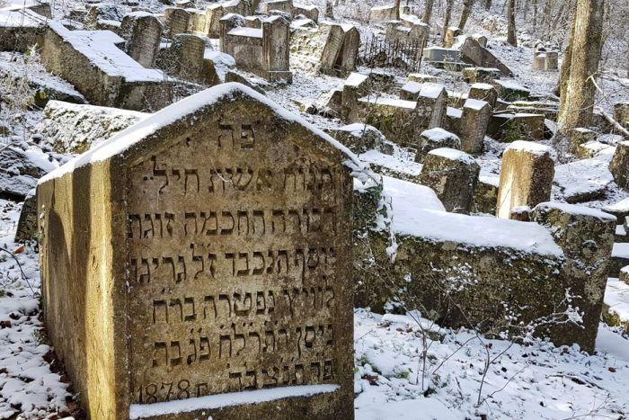 Блог путешественника по Крыму: караимское кладбище возле Чуфут-Кале