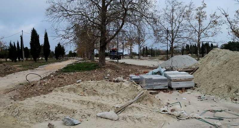 При реконструкции парка Победы в Севастополе возникли новые сложности